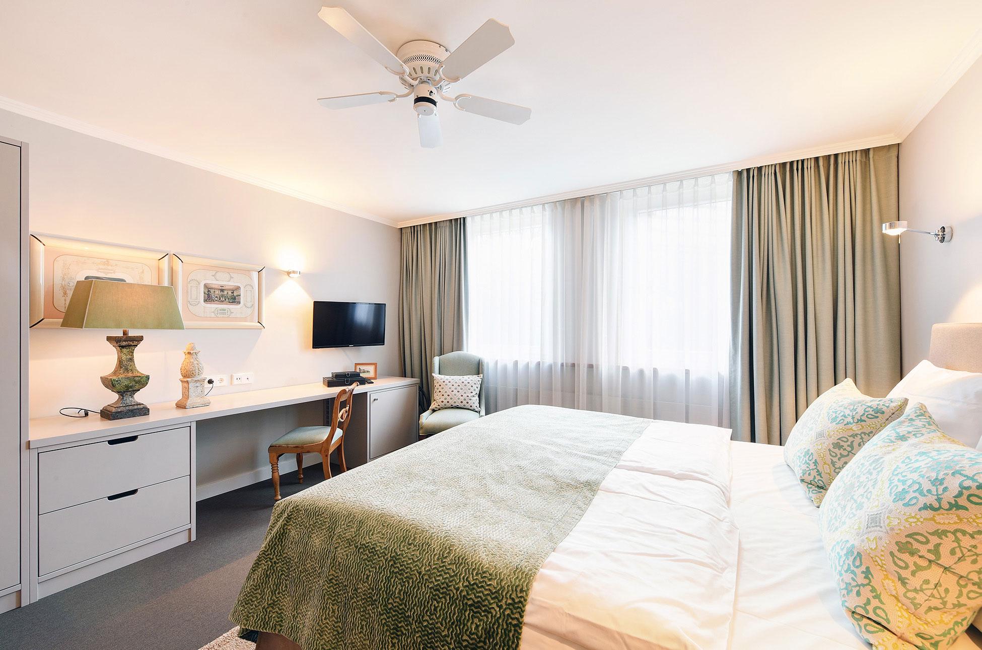 Doppelzimmer des Hotel Admiral, München