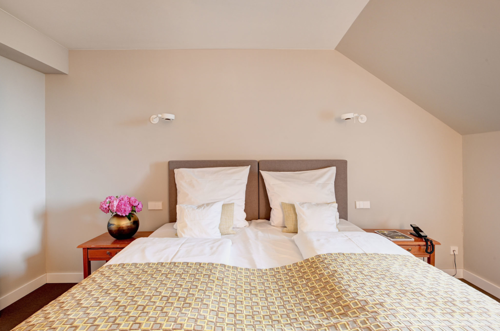 Double room of the Hotel Admiral, Munich